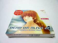 Dead or Alive Game Music Soundtrack Cd Japanese Dead Or Alive 4 rare 2006