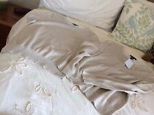 ladies landsend cardigan&jumper twin set size M gold cotton bnwt