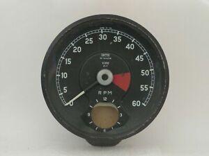 Tachometer Fits Jaguar XKE 4.2L 01/1966-1969 Smiths Brand   RVI7414/06