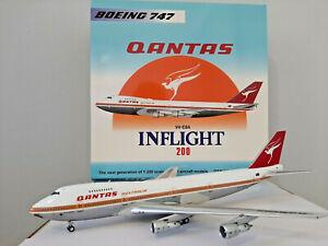 QANTAS B747-200 VH-EBA First 747 polished Inflight 1/200 IF742QFA1ST747P
