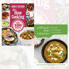 Slow Cooker Without the Calories and More Slow Cooking 2 Books Collection SetNEW
