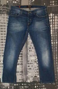 SMOG Herren Jeans W33 L27, Authentisch