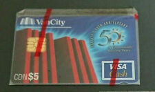 1996 $5 - VISA CASH CARD - VANCITY BANK - CANADA - RARE - MINT