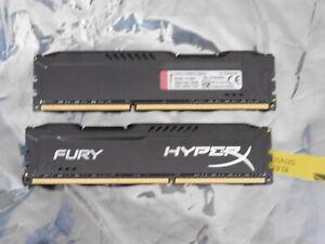 Kingston 8GB (1 x 8GB) DIMM HyperX Fury Black Series (DDR3-CL10) HX318C10FB/8 x2