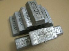 15+# Lot Soft Lead 1 Pound Ingots Lymon and RCBS  casting, fishing, reloading,