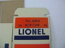 Lionel 6464-275 State of Maine Box Car Licensed Reproduction Box