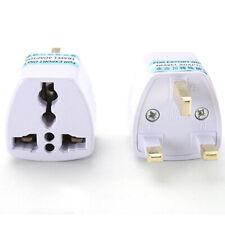 Universal Travel US EU AU To UK HK Plug Adapter Socket Converter AC Power