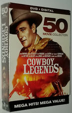 Cowboy Legends 50 Movie DVD Box Set John Wayne Roy Rogers, Gene Autry Tex Ritter