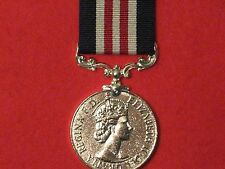FULL SIZE GALLANTRY MILITARY MEDAL MM EIIR MUSEUM COPY MEDAL WITH RIBBON.