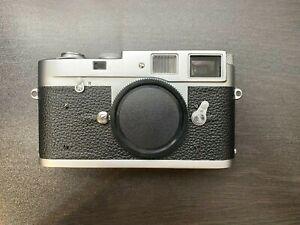 Leica M2 Rangefinder 35mm Film Camera Body Chrome