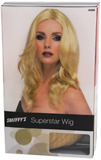 Superstar Wig, Blonde, Long, Wavy, with Skin Parting (US IMPORT) COST-ACC NEW