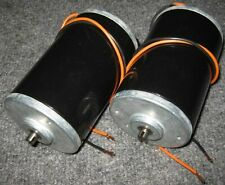 2 X 12 VDC Big Hobby Motor - 6000 RPM - High Current and Starting Torque - 160A