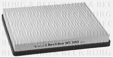 BFC1055 BORG & BECK CABIN AIR FILTER fits Rover MG ZR, 25, 45, 200, 400