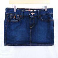 Size 10 Jean Skirt Womens Denim Blue Stretch Old Navy