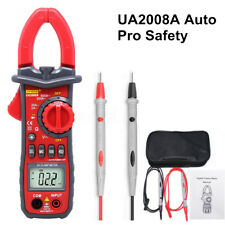 UYIGAO UA2008A Auto Digital Clamp Meter Multimeter Handheld RMS AC/DC Resistance
