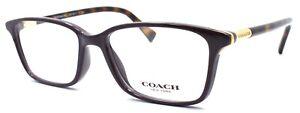 COACH HC6077 5335 Women's Eyeglasses Frames 51-15-135 Purple / Dark Tortoise