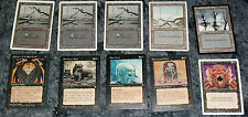 MAGIC THE GATHERING CARD LOT # 17 ( FROM THE 1990s)