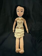 "Disney Store Pocahontas Plush Doll 21"" tall"