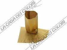 BUSTE IN CARTA - COLORE ORO - 12x23+3,5cm - 10 PEZZI