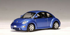 AUTOART 1/43 VW New Beetle 1999 Die-Cast Car in Blue #59731