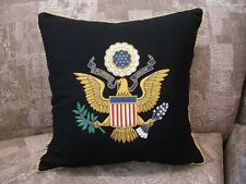 Great Seal Presidential Top Quality Embroidered Pillow - Great Gift Item!