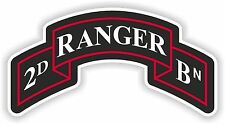 2nd Ranger insignia sticker decal Regiment us army battalion military second Bn