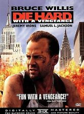 Die Hard 3: Die Hard With a Vengeance (DVD, 1999) Samuel L. Jackson Bruce Willis