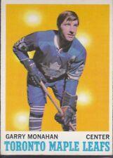 1970-71 TOPPS HOCKEY GARRY MONAHAN #112 MAPLE LEAFS EX+ *59602