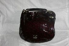 Jimmy Choo Solar Patent Leather & Leopard  Bangle Hobo Bag