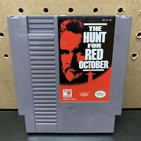 The Hunt for Red October NES Nintendo Game - Cartridge Only - Tested - Fast Ship