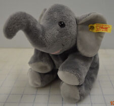 Steiff Floppy Trampili Elephant Gray Plush 281020 - Made in Germany
