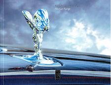 Rolls Royce 2016 Range Softback Sales Brochure 63pgs - inc Black Badge