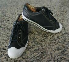 FootJoy FJ Street Black Leather Soft Spike Golf Shoes 56421 Men's Size 10 M