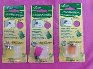 CLOVER PROTECT AND GRIP  FLEXIBLE RUBBER THIMBLE