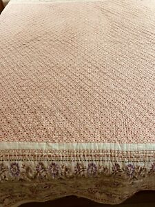 The Company Store Handcrafted & Quilted Patchwork Quilt 113x97 king #183