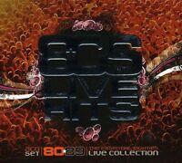 80'S LIVE HITS 2 CD NEU WAX/ASIA/CHAKA KHAN/STRAY CATS/BLONDIE/LEVEL 42/YEAS/+