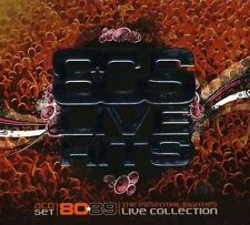 80'S LIVE HITS 2 CD NEU WAX/ASIA/CHAKA KHAN/STRAY CATS/BLONDIE/LEVEL 42/YEAS/+