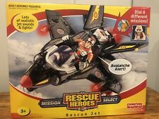 Rare Brand New Rescue Heroes Mission Select - Rescue Jet Sealed