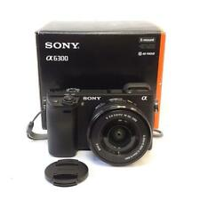 Sony Alpha 24.2MP 4K A6300 video mirrorless fotocamera digitale con lente 16-50mm E PZ