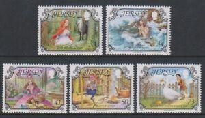 Jersey - 2005, Fairy Tales set - MNH - SG 1195/9