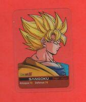 DRAGON BALL Z - Lamincards n° 34 - Partie 1 - SANGOKU   (334)