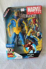 MARVEL Universe IRON MAN w/ GOLIATH Set AVENGERS #51 Walmart BLUE VARIANT RARE