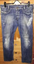 Mens POIAK DIESEL jeans Wash 008D5 W 34 L 32