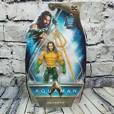 "2018 Aquaman Movie DC Comics 6"" Aquaman Action Figure Royal Armor Trident FWX60"