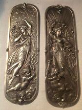 Art Nouveau Antique Door Knobs Handles eBay