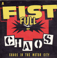 DISC ONLY - A Fist Ful of Chaos: Chaos in The Motor City (CD, 1991)