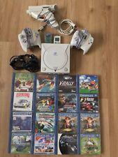 Sega Dreamcast / 2 Contr. / MMC / 15 Spiele / Pistole (Gun) / Original