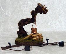 Rauchlagerfeuer für 10-12cm Figuren, Wurzel