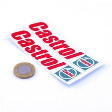 CASTROL Oil Sticker Classic Vintage Retro Car 90s Motorcycle Vinyl Decals 100mm
