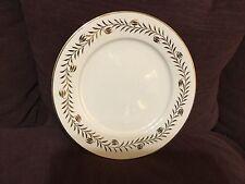 MSE~Martha Stewart Everyday Gold \u0026 White Holiday Leaf/Vine Dinner Plate & Martha Stewart Holiday Dinnerware Plates | eBay
